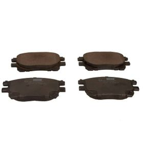 MAXGEAR Disk pads Front Axle, excl. wear warning contact