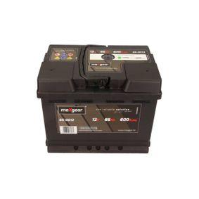 Starterbatterie Polanordnung: DX mit OEM-Nummer 1J0 915 105 AD