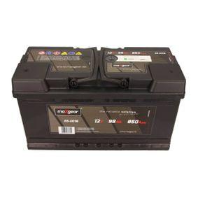 Starterbatterie Polanordnung: 0 mit OEM-Nummer 4D0915105C