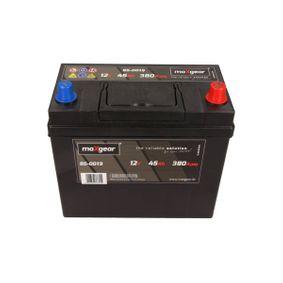 MAXGEAR  85-0019 Starterbatterie Polanordnung: DX