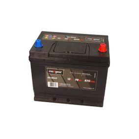 MAXGEAR  85-0022 Starterbatterie Polanordnung: DX