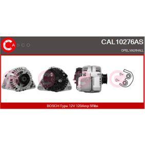 Lichtmaschine Rippenanzahl: 5 mit OEM-Nummer 09117935