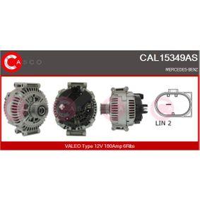 Generator Rippenanzahl: 6 mit OEM-Nummer A 646 154 11 02
