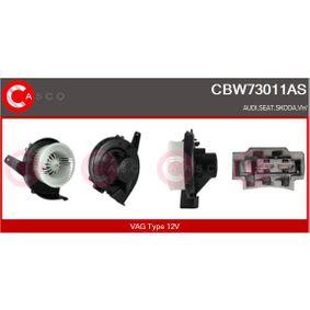 Innenraumgebläse Spannung: 12V mit OEM-Nummer 6Q1819015G
