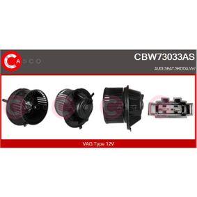 Interior Blower Voltage: 12V with OEM Number 1K1 819 015 E