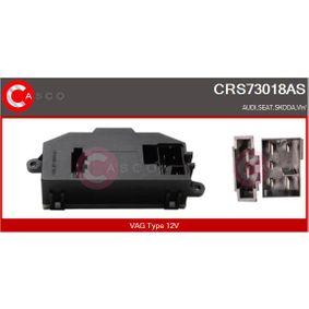 Widerstand, Innenraumgebläse Spannung: 12V mit OEM-Nummer 3C0 907 521 D