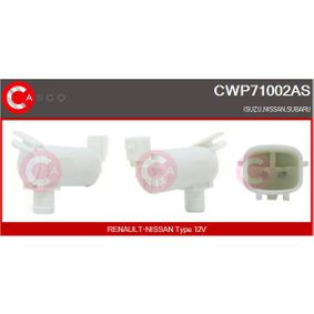 Waschwasserpumpe, Scheibenreinigung Spannung: 12V mit OEM-Nummer 28920-AR000