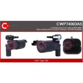 Water Pump, window cleaning Voltage: 12V with OEM Number 93 160 293