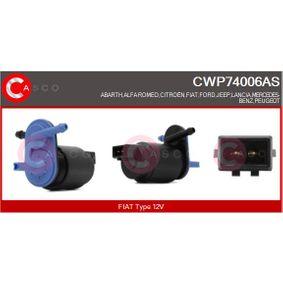 Waschwasserpumpe, Scheibenreinigung Spannung: 12V mit OEM-Nummer 7222079