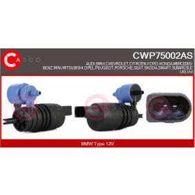 Opel Meriva B 1.7CDTI (75) Waschwasserpumpe CASCO CWP75002AS (1.7CDTI (75) Diesel 2013 A 17 DTC)