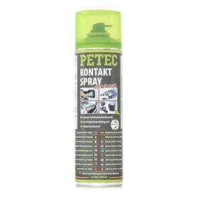 Kontaktspray PETEC 71150 für Auto (Sprühdose, Inhalt: 500ml, kriechfähig, Langzeitschutz, silikonfrei, wasserabweisend)