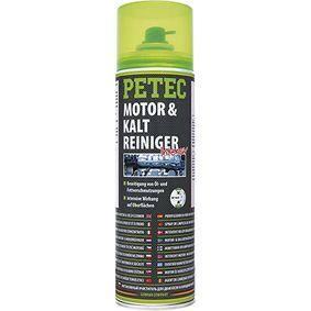 Motor- und Kraftstoffsystem-Reiniger PETEC 71850 für Auto (Inhalt: 500ml, Sprühdose, silikonfrei)
