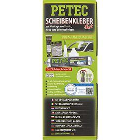 Scheibenkleber PETEC 83433 für Auto (Beutel, 20min., schwarz, Inhalt: 400ml, aushärtend, hochmodulig)