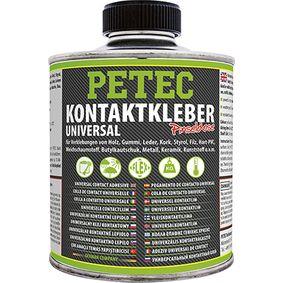 Gummikleber PETEC 93935 für Auto (temperaturbeständig, Dose, gelb-transparent, Inhalt: 350ml)