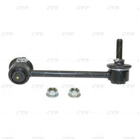Bronzina cuscinetto, Barra stabilizzatrice Diametro interno: 29,5mm, Ø: 45,5mm con OEM Numero MR150095