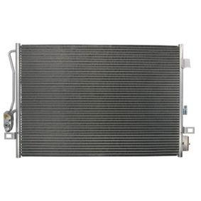 Kondensator, Klimaanlage Netzmaße: 687 x 444 x 16 mm mit OEM-Nummer 68038244AA