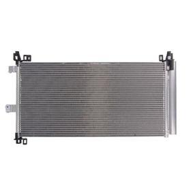 Kondensator, Klimaanlage Netzmaße: 732 x 362 x 16 mm mit OEM-Nummer 6455 HR