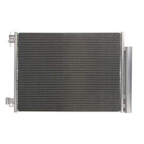 Kondensator, Klimaanlage Netzmaße: 541 x 378 x 12 mm mit OEM-Nummer 453 500 00 54
