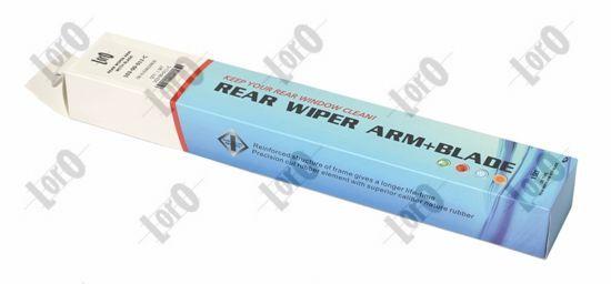 Juego de brazos limpiaparabrisas, limpieza parabrisas ABAKUS 103-00-057-C evaluación