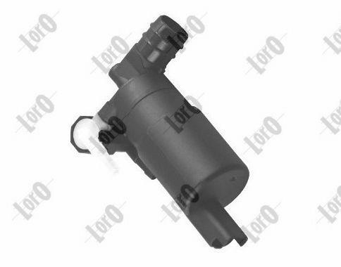 ABAKUS  103-02-002 Waschwasserpumpe, Scheibenreinigung Spannung: 12V, Pol-Anzahl: 2-polig