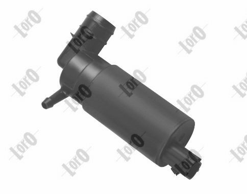 ABAKUS  103-02-007 Waschwasserpumpe, Scheibenreinigung Spannung: 12V, Pol-Anzahl: 2-polig