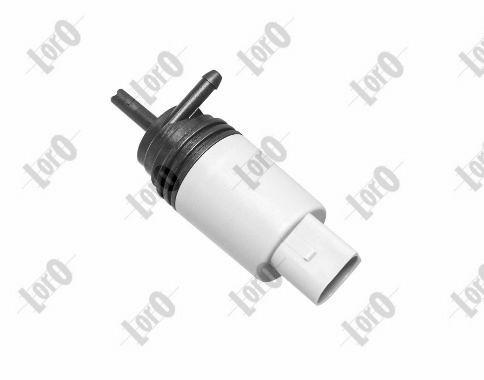 ABAKUS  103-02-010 Waschwasserpumpe, Scheibenreinigung Spannung: 12V, Pol-Anzahl: 2-polig