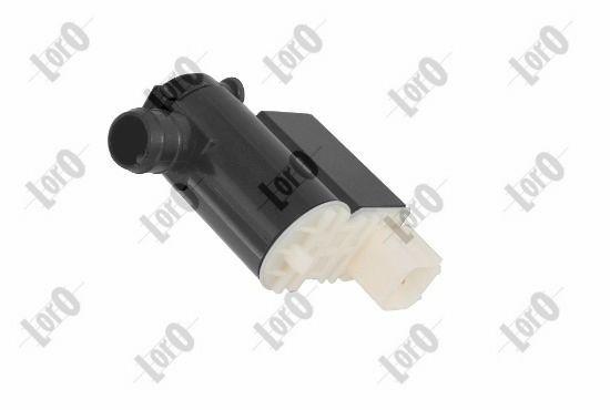 ABAKUS  103-02-017 Bomba de agua de lavado, lavado de parabrisas Tensión: 12V, Número de polos: 2polos