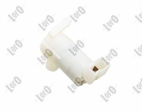 ABAKUS  103-02-018 Waschwasserpumpe, Scheibenreinigung Spannung: 12V, Pol-Anzahl: 2-polig