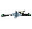 Electric window lifter ABAKUS 14123641 Right Rear, Operating Mode: Electric, without electric motor