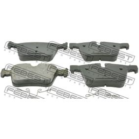 Brake Pad Set, disc brake with OEM Number LR090707