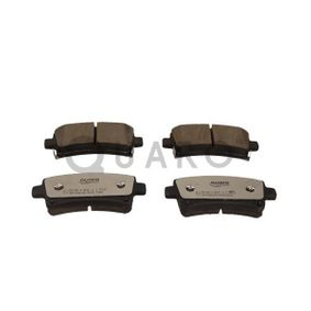 Brake Pad Set, disc brake Width: 106,4mm, Height: 47,1mm, Thickness: 17,3mm with OEM Number 16 05 319