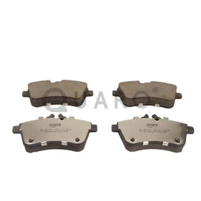 Brake Pad Set, disc brake Width: 131,8mm, Height: 70mm, Thickness: 20,1mm with OEM Number A 169 420 01 20
