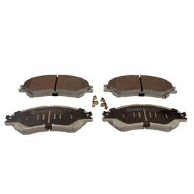 Bremsbelagsatz, Scheibenbremse Breite: 141,9mm, Höhe: 54,9mm, Dicke/Stärke: 16,8mm mit OEM-Nummer 55810 61M 01