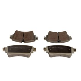 Brake Pad Set, disc brake Width: 129,30mm, Height: 59,0mm, Thickness: 17,5mm with OEM Number 8W0698451K