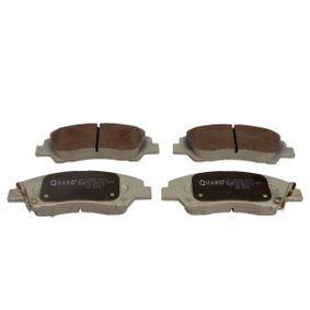Bremsbelagsatz, Scheibenbremse Breite: 132,7mm, Höhe: 50,4mm, Dicke/Stärke: 16,7mm mit OEM-Nummer 58101B4A00