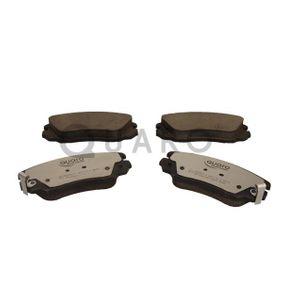 Bremsbelagsatz, Scheibenbremse Breite: 131,4mm, Höhe: 59,7mm, Dicke/Stärke: 19,1mm mit OEM-Nummer 16 05 185