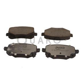 Bremsbelagsatz, Scheibenbremse Breite: 116,8mm, Höhe: 52,7mm, Dicke/Stärke: 17mm mit OEM-Nummer 6802 9887AA