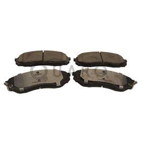 Bremsbelagsatz, Scheibenbremse Breite: 164,7mm, Höhe: 63,4mm, Dicke/Stärke: 17,6mm mit OEM-Nummer 58101 4DE00