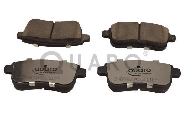Bremsbeläge QP3316C QUARO QP3316C in Original Qualität