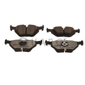 Bremsbelagsatz, Scheibenbremse Breite: 123mm, Höhe: 45,3mm, Dicke/Stärke: 17,3mm mit OEM-Nummer 3421 1 162 446