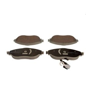Brake Pad Set, disc brake Width: 175,2mm, Height: 69,5mm, Thickness: 20,0mm with OEM Number 8V0 698 151C