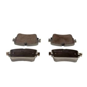 Brake Pad Set, disc brake Width: 129,3mm, Height: 64,7mm, Thickness: 17,0mm with OEM Number 4M0 698 451P