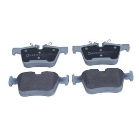 Brake Pad Set, disc brake Width: 122,6mm, Height 1: 56,1mm, Height 2: 59,6mm, Thickness: 16,1mm with OEM Number LR-123595