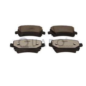 Bremsbelagsatz, Scheibenbremse Höhe 1: 56,1mm, Dicke/Stärke: 17mm mit OEM-Nummer 4F0 698 451 D