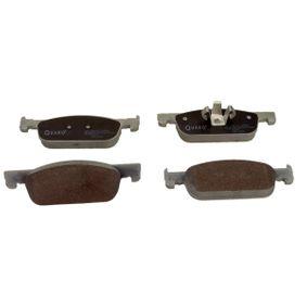 Brake Pad Set, disc brake QP6120 Clio 4 (BH_) 1.5 dCi 90 MY 2015