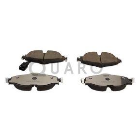 Bremsbelagsatz, Scheibenbremse Breite: 160,2mm, Höhe: 64,5mm, Dicke/Stärke: 20,3mm mit OEM-Nummer 5Q0-698-151