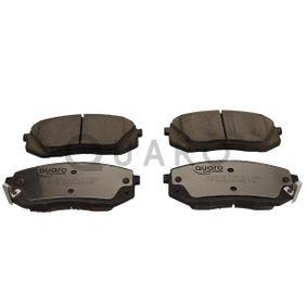 Bremsbelagsatz, Scheibenbremse Breite: 137,9mm, Höhe: 60,8mm, Dicke/Stärke: 16,6mm mit OEM-Nummer 58101 2MA00