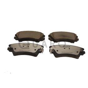 Bremsbelagsatz, Scheibenbremse Breite: 142,1mm, Höhe: 67mm, Dicke/Stärke: 19,1mm mit OEM-Nummer 95520061