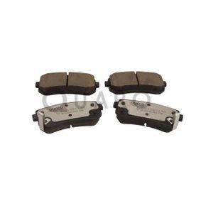 Brake Pad Set, disc brake QP6986C RIO 2 (JB) 1.5 CRDi MY 2014