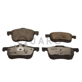 Brake Pad Set, disc brake Width 1: 155,3mm, Width 2 [mm]: 156,5mm, Height 1: 72,5mm, Height 2: 69,1mm, Thickness: 18,9mm with OEM Number 30776712